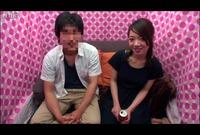 【素人ナンパ企画】男女友達同士!薄ラップ越しの素股ゲームで賞金ゲット?Vol.03